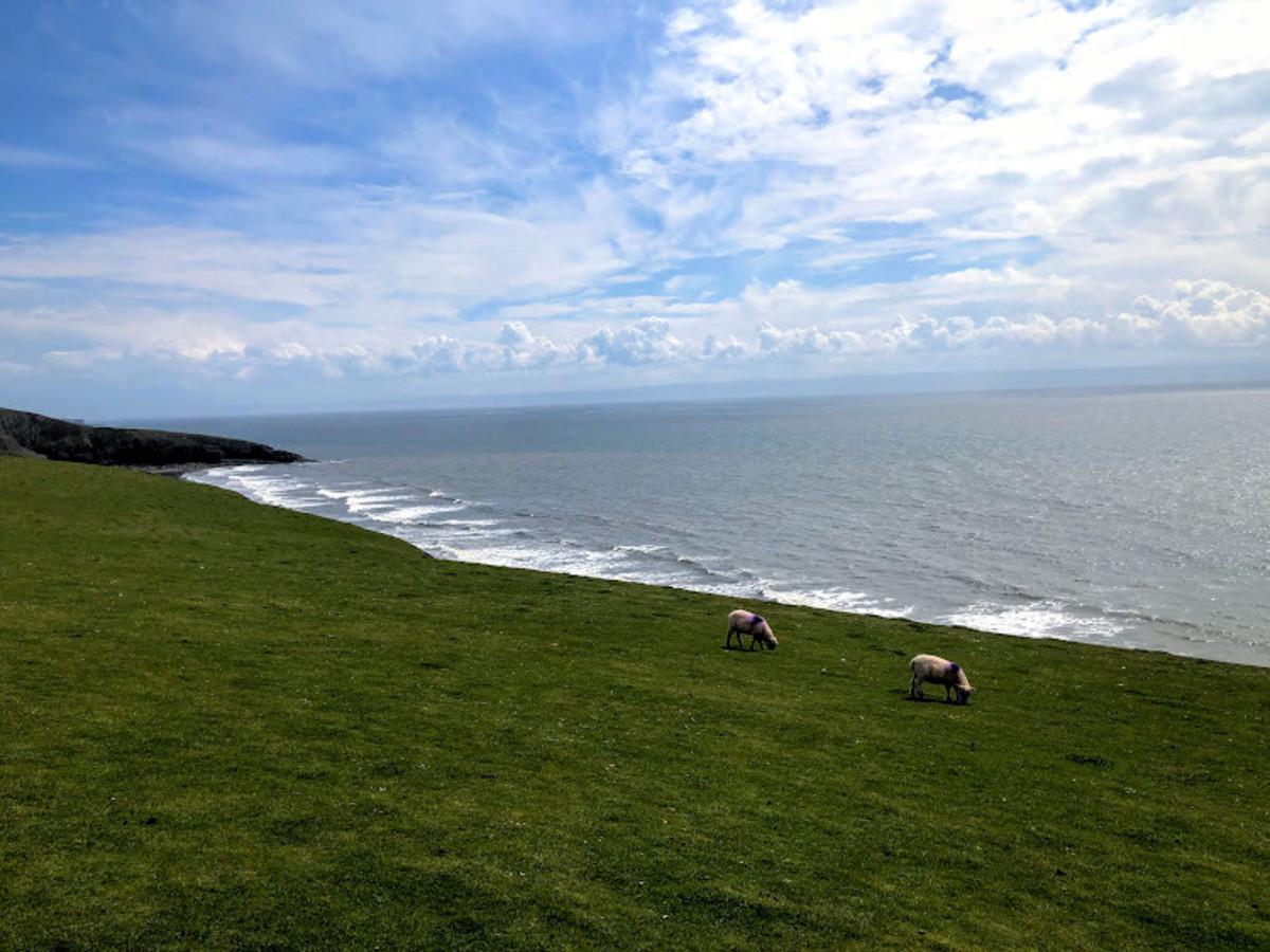 Unrivalled views across the ocean.
