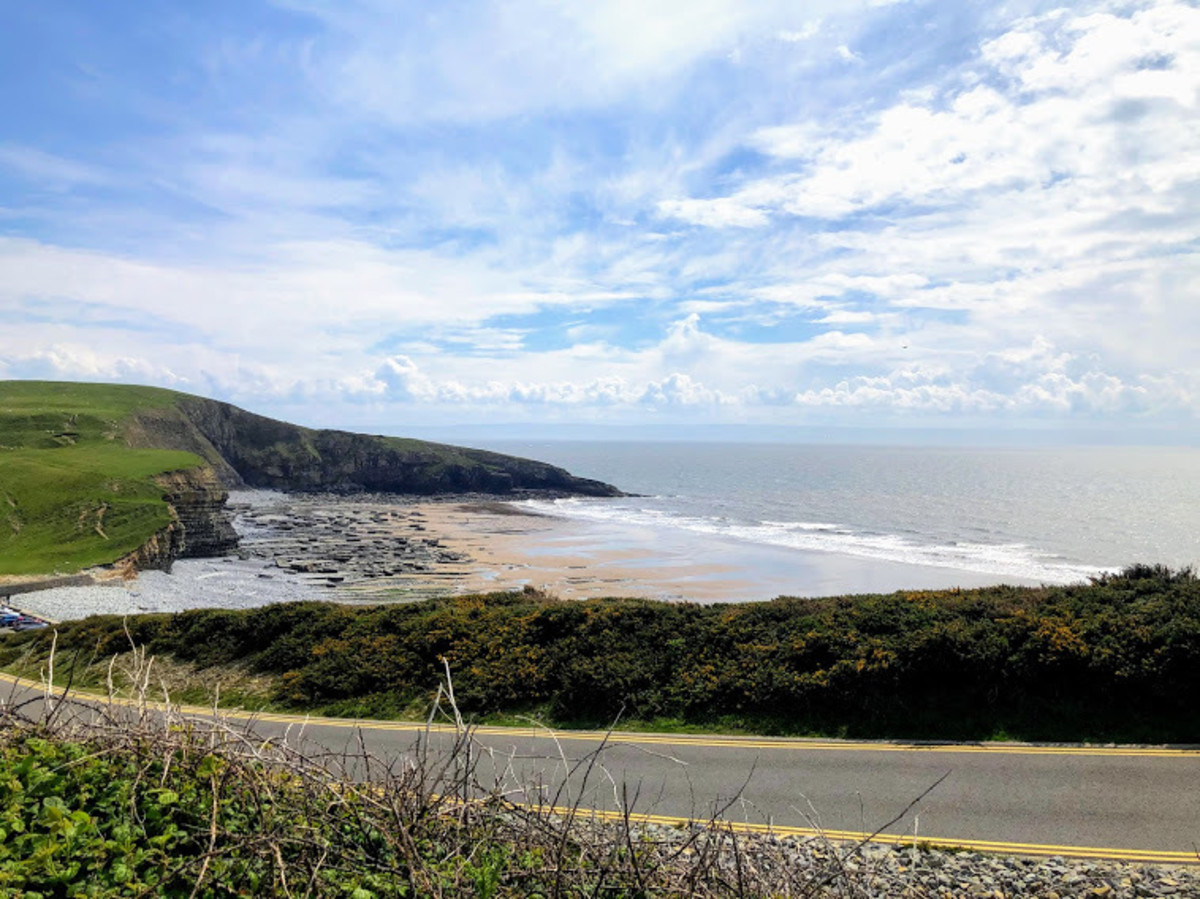 The views across the Glamorgan Heritage Coast are beautiful.