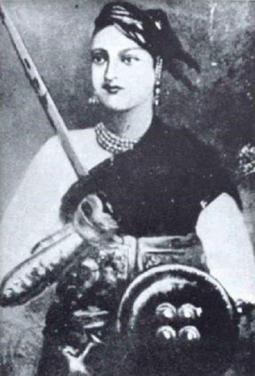 Goddess of Inspiring Revolutionaries the Queen of Jhansi – Rani Lakshmibai