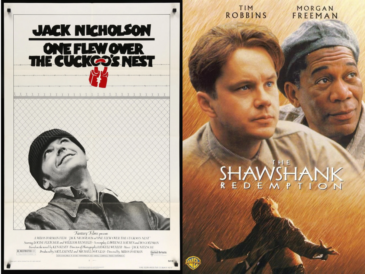 Comparing Similar Movies, Part 1: One Flew Over the Cuckoo's Nest and the Shawshank Redemption