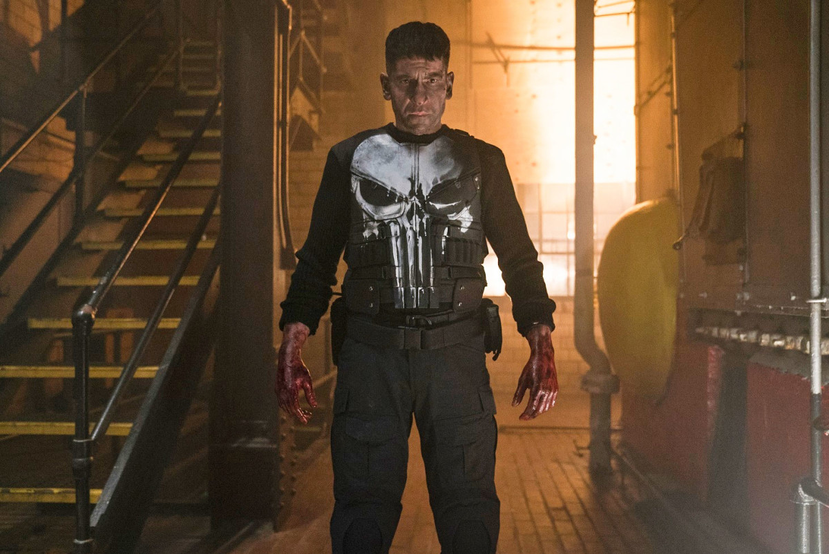 Courtesy of Netflix.  The Punisher series is seen by some as outdated, continuation of traditional machismo.  Leaving some people to call out for a more compassionate, male examples.