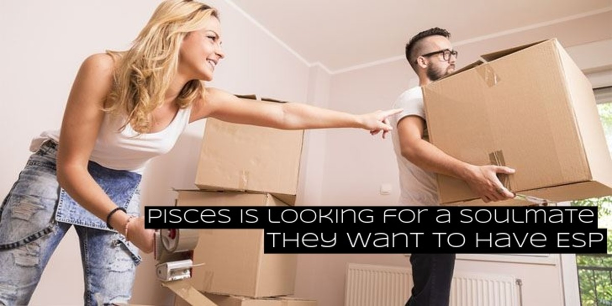 A Pisces is essentially looking for a soul mate, a twin flame, or a telepathic connection.