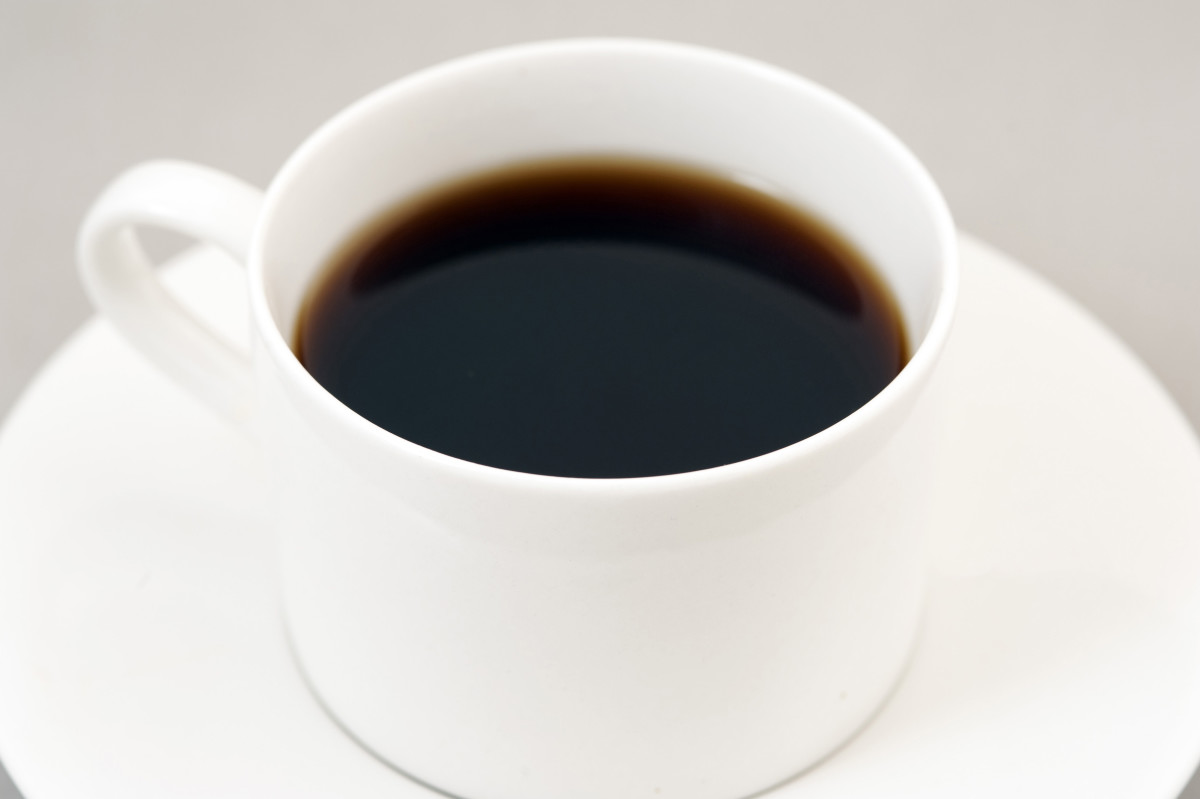 A cup of coffee that represents current mood.
