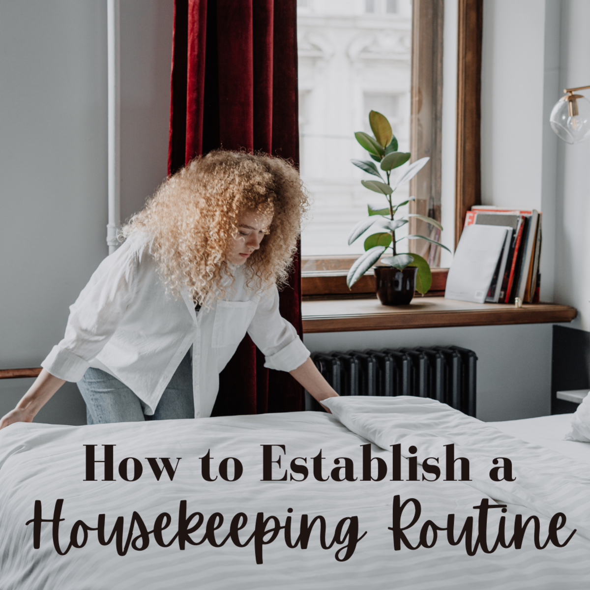 Keeping your house clean and organized is key!