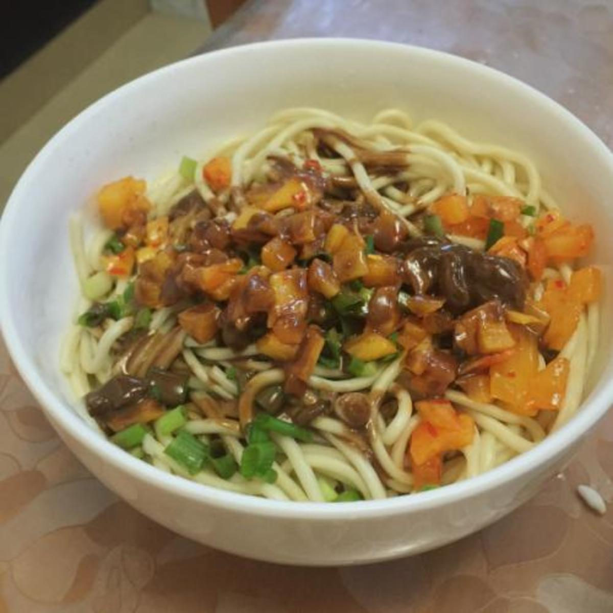 Wuhan Hot dry noodles introduction