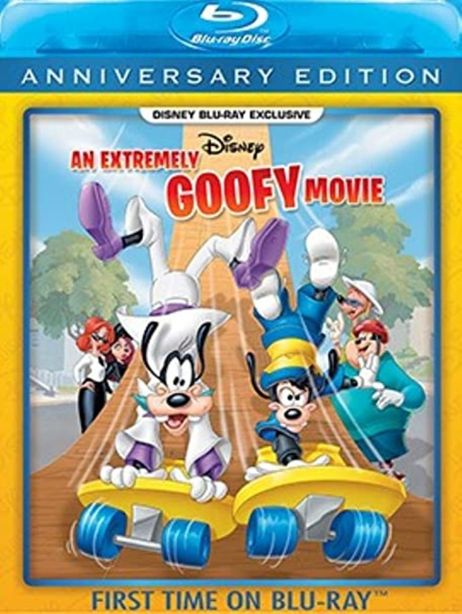 """""""An Extremely Goofy Movie"""" Blu-ray Cover"""