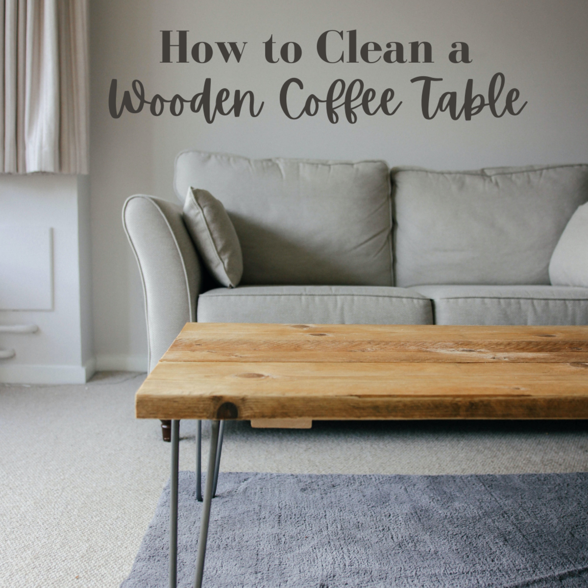Wooden coffee tables require special care—here's how to maintain them properly.