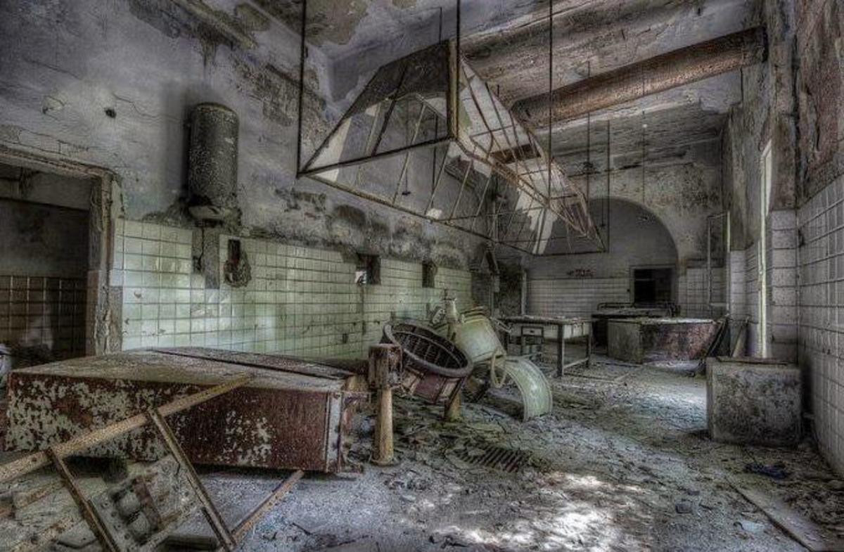 Inside Poveglia Asylum