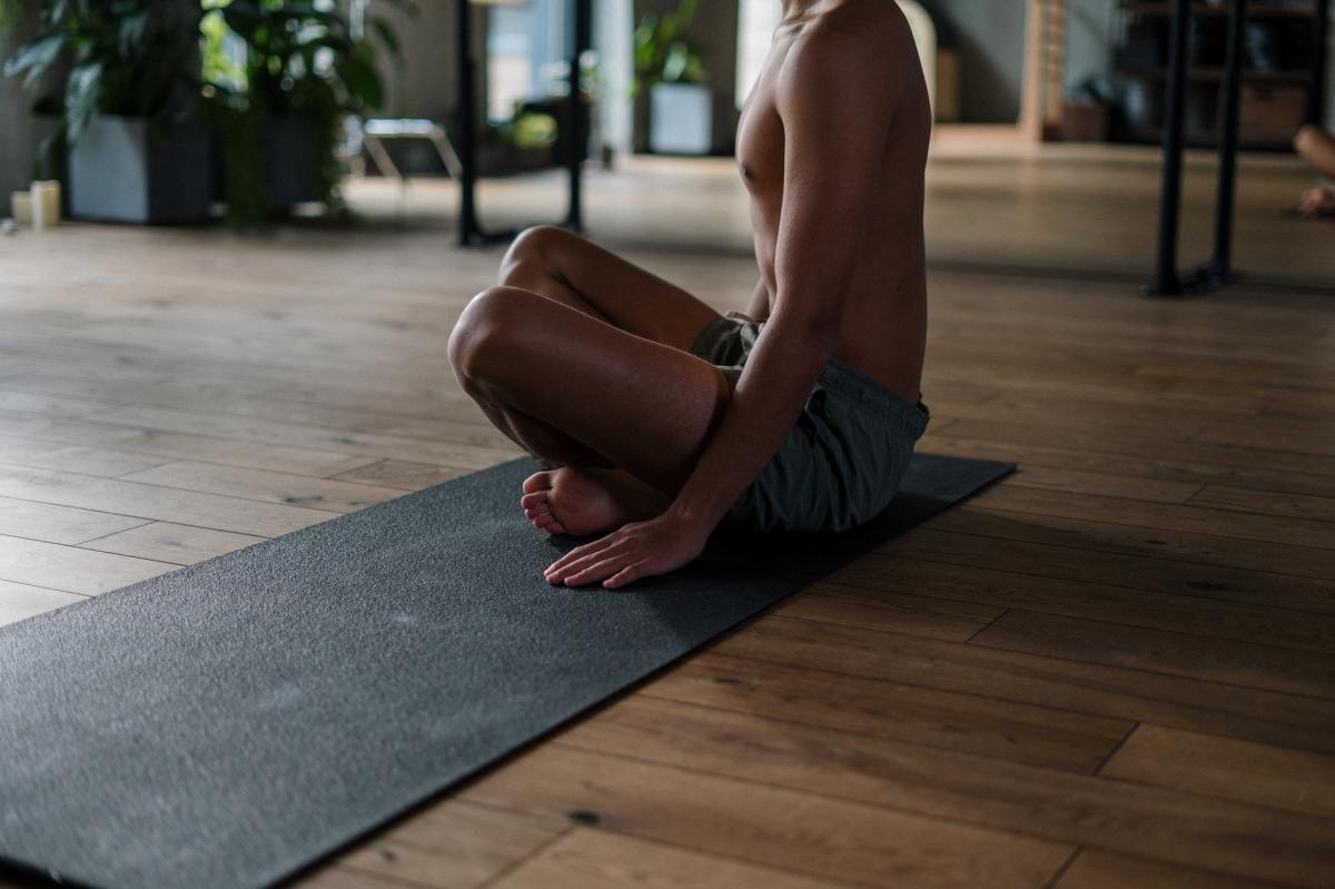 Yoga Mat to help your dad exercise.