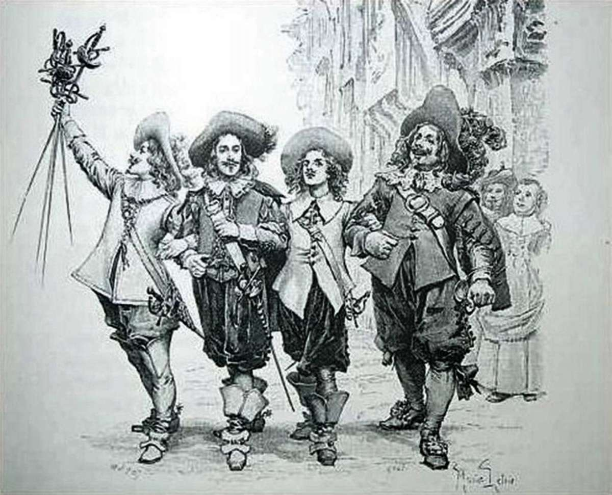 The musketeers of France have been rendered forever famous by authors such as Dumas
