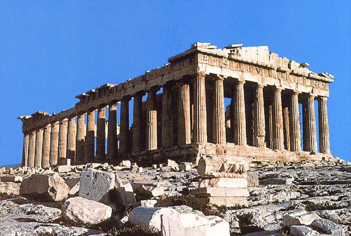 The Parthenon as it stands today