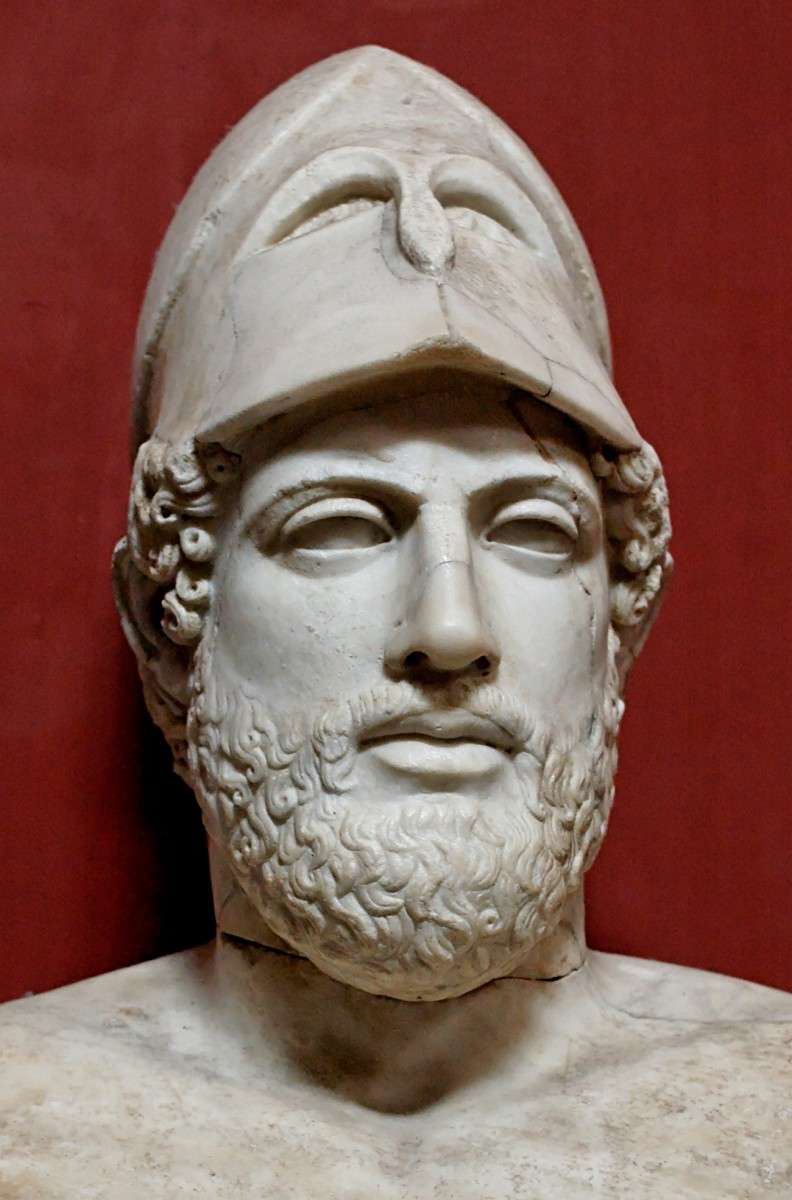 Bust of Pericles by Kresilas