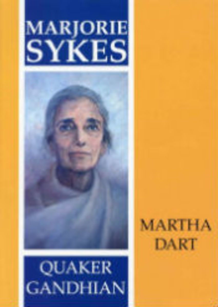 Biography of Marjorie Sykes, authored by Martha Dart