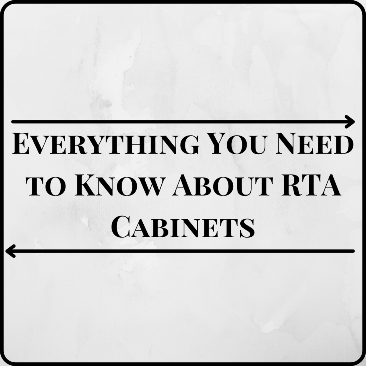 Learn everything you need to know about imported ready-to-assemble and domestic cabinetry