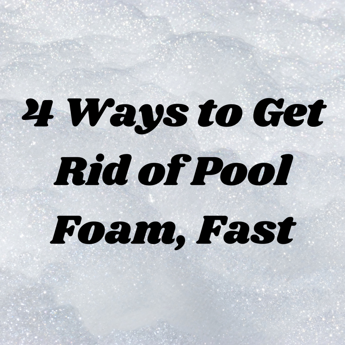 Learn six common reasons why there's foam in your pool—and four ways to get rid of it.