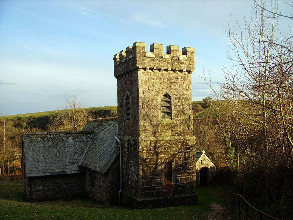 St. Catherine's Church, Temple, Cornwall
