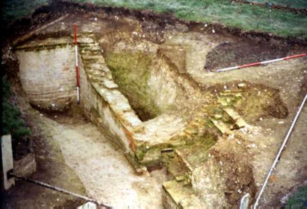 Excavations in the late 1990s at Cressing Temple