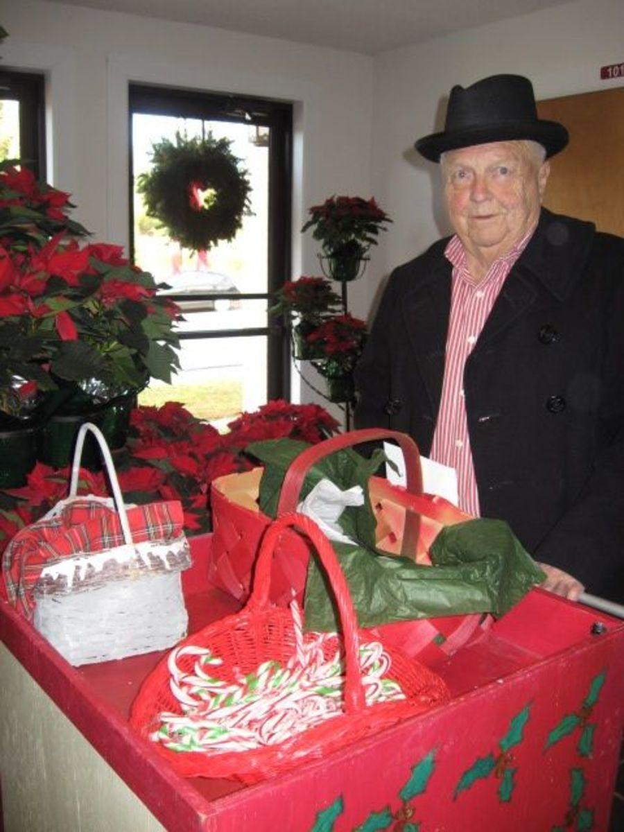 Doc Hellams at Pendleton United Methodist Church Christmas Cantata 2010