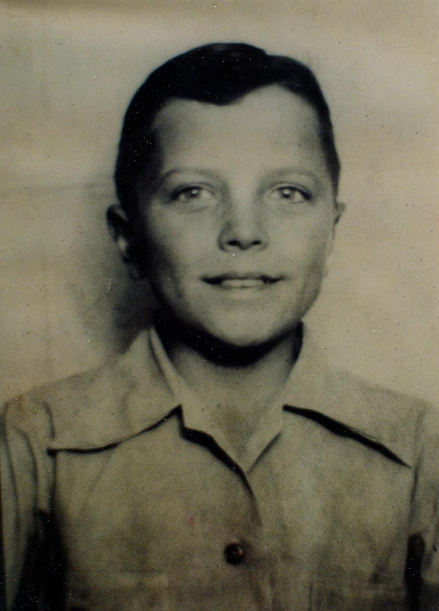 Jimmy Hellams - Doc as a boy
