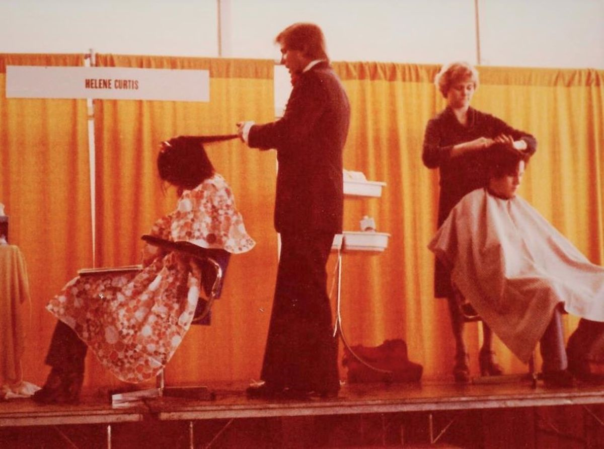 Helene Curtis Headliner at Hair Show