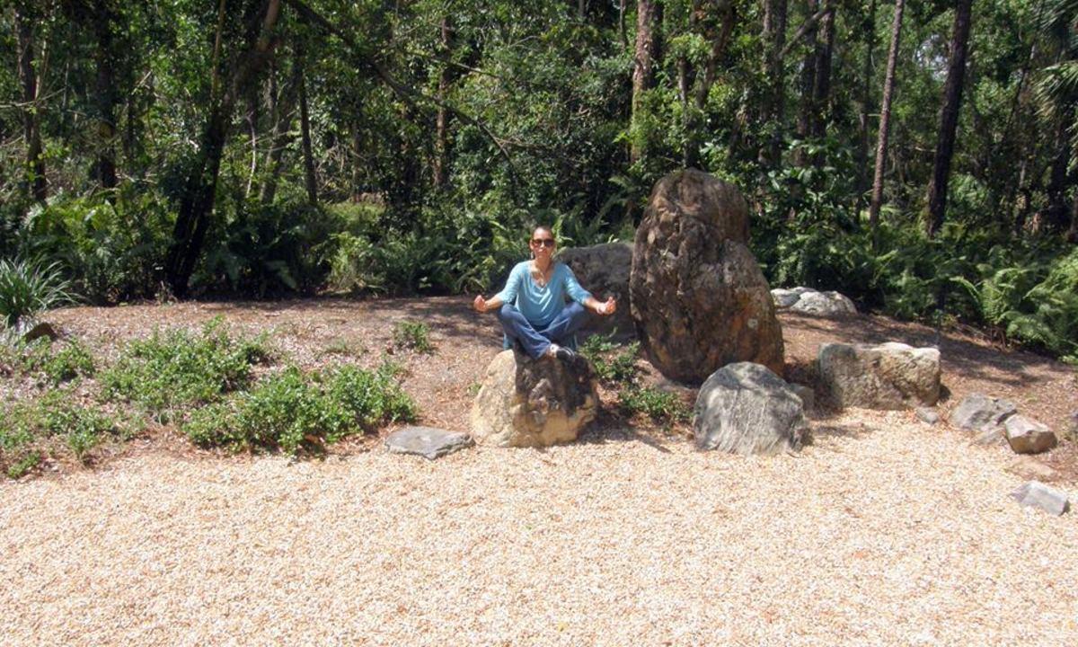 At the Morikami Gardens, Delray Beach, Florida