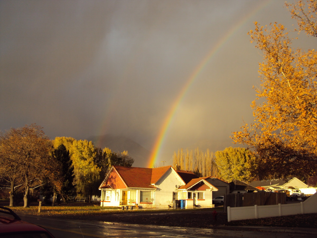 Love is the Pot Of Gold at the end of the rainbow.