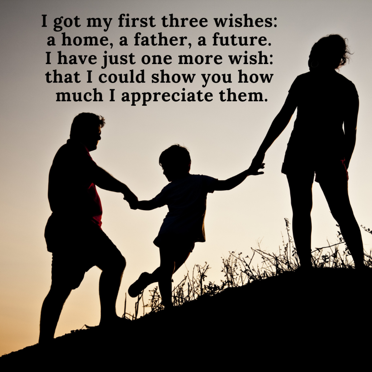 Father figures play such important roles in our lives—give yours a thank-you message he'll never forget.