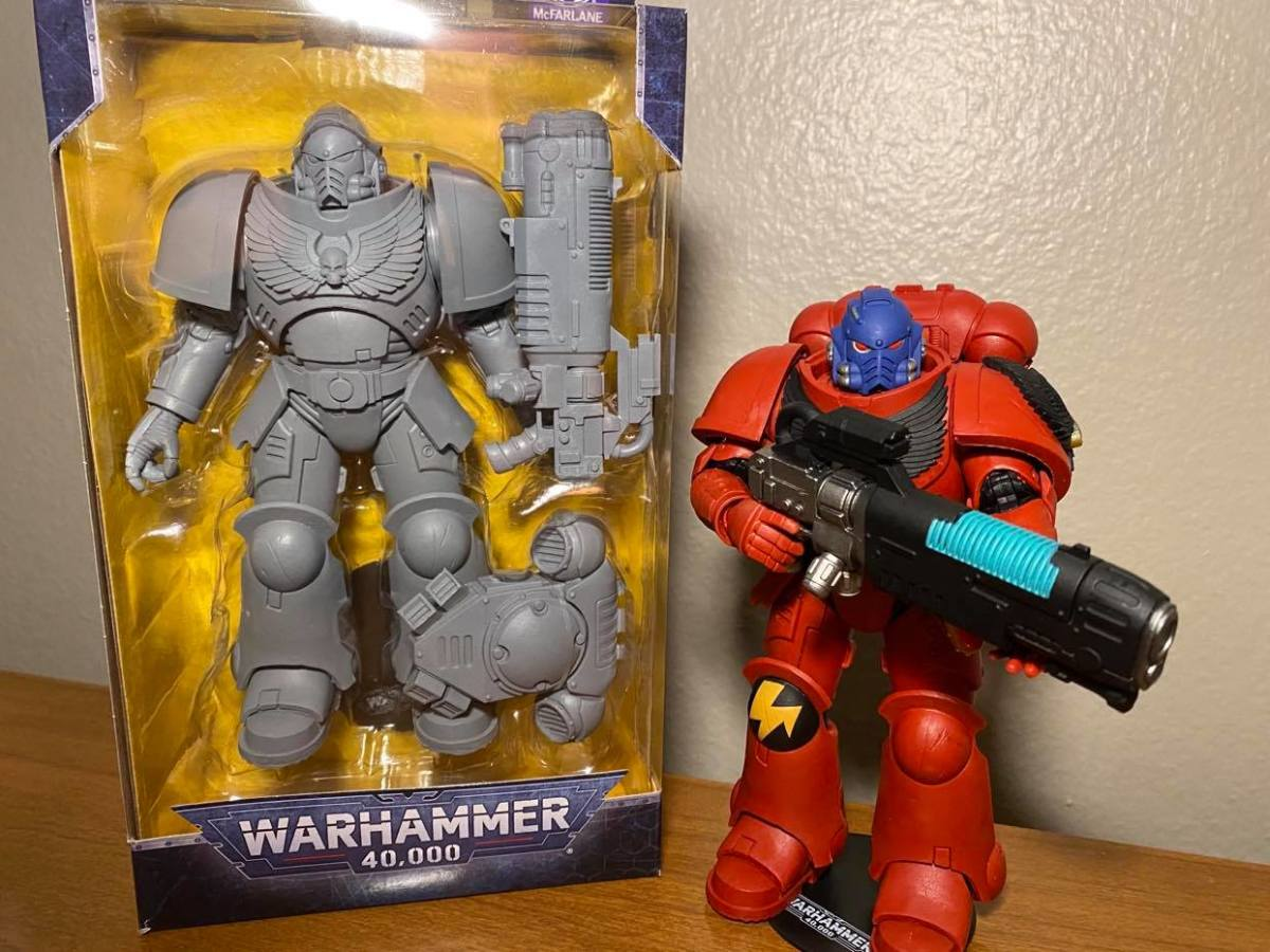 He is very basic, but I love how sturdy and clunky the Hellblaster is!