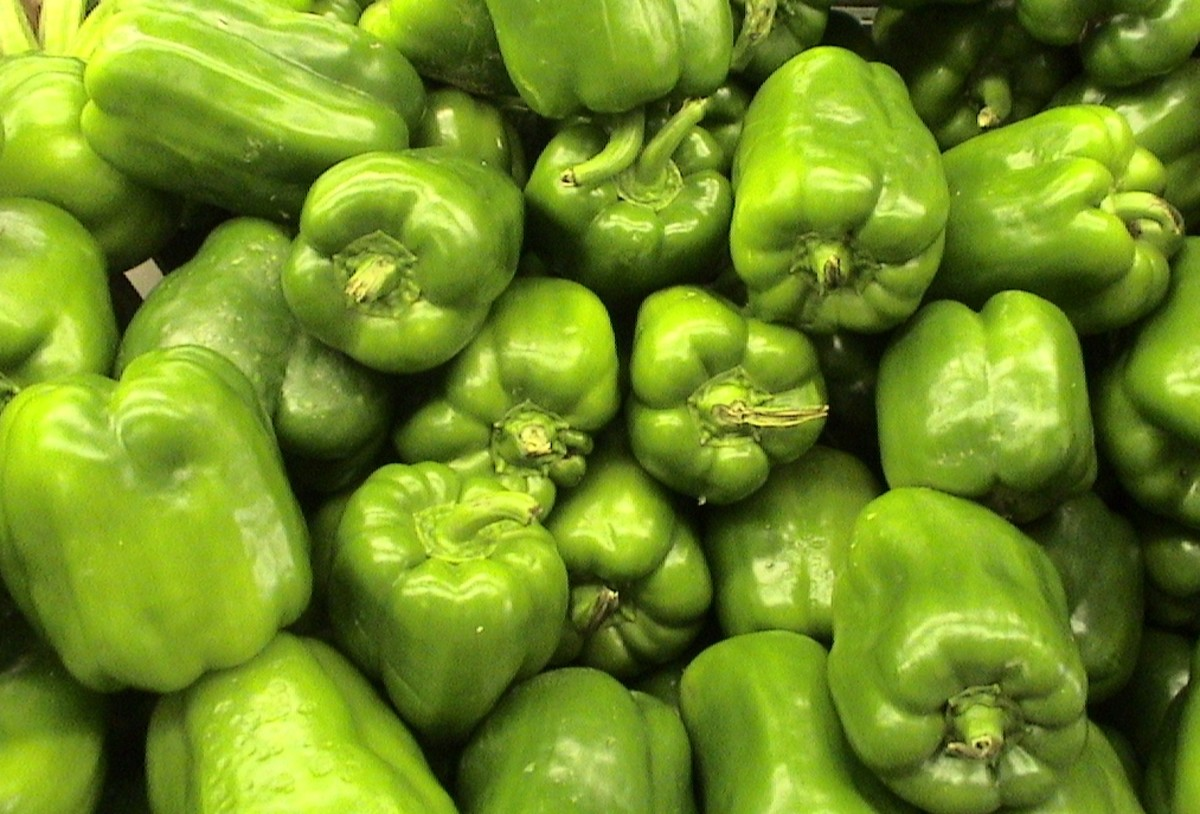 Green Peppers and Their Health Benefits