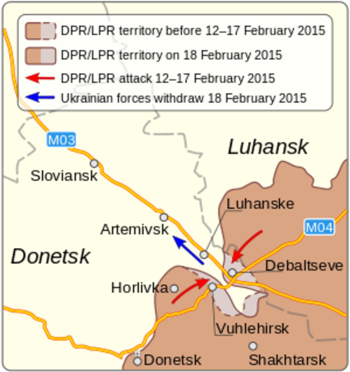 Putin's War and His Little Green Men at Debaltseve, Ukraine, 2015