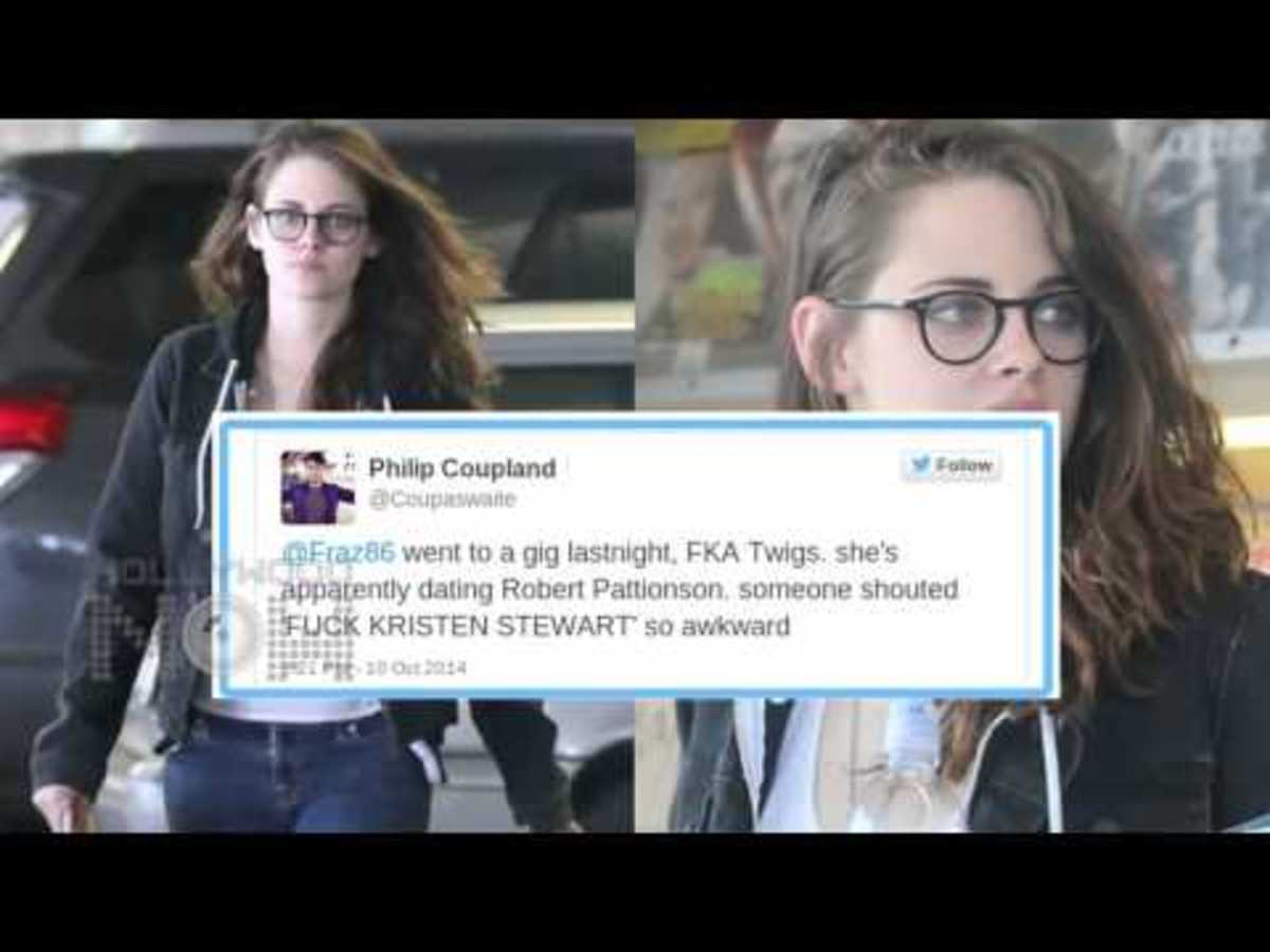 Kristen Stewart, Robert Pattinson and FKA Twigs - Tabloids Harass While OLDER Anti-Fans Blame Younger Fans for Hate
