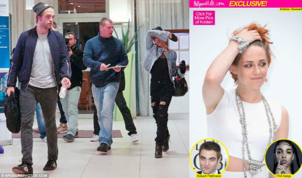 Current tabloid triangle: Robert Pattinson, Kristen Stewart and FKA Twigs.