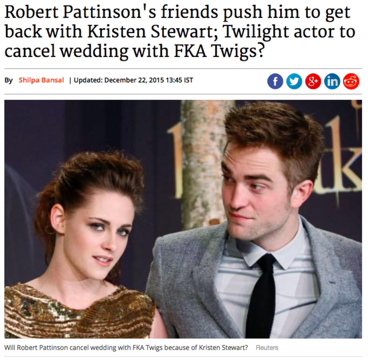Kristen Stewart, Robert Pattinson & FKA Twigs - Tabloids Harass While OLDER Fans & Anti-Fans Blame Fangirlz for Hate
