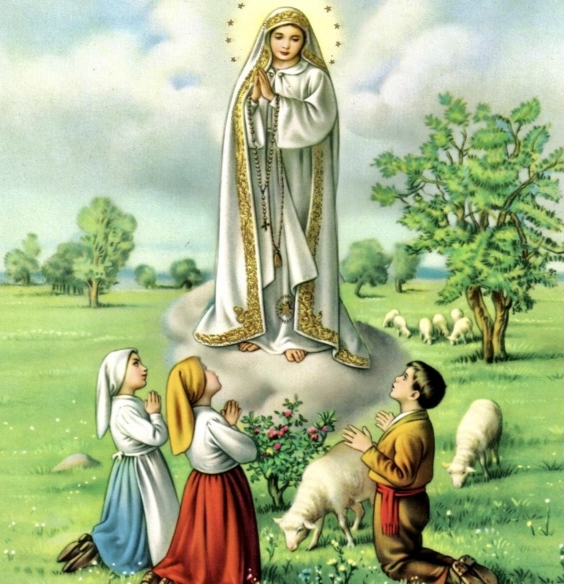 Our Lady of Fatima, pray for us....