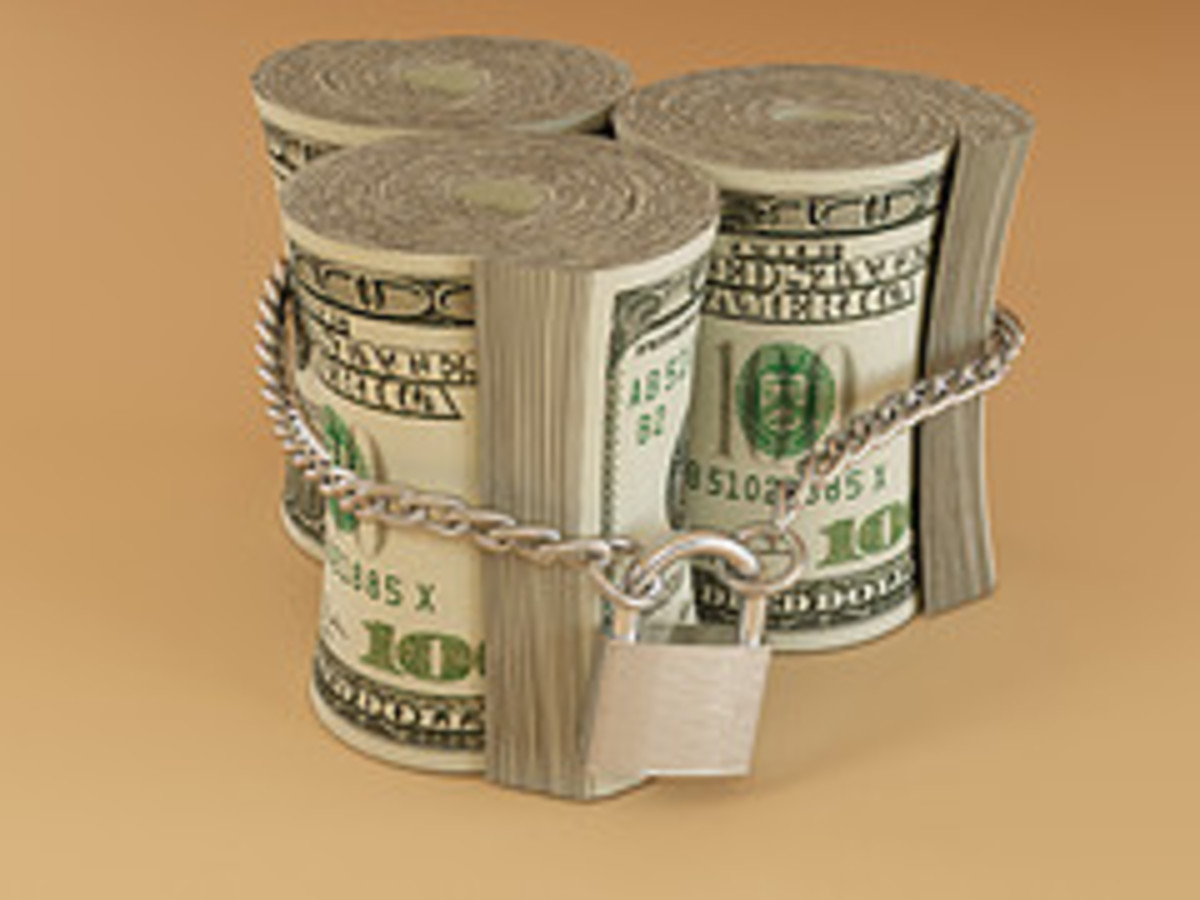 Money is one of the things usually inheritted