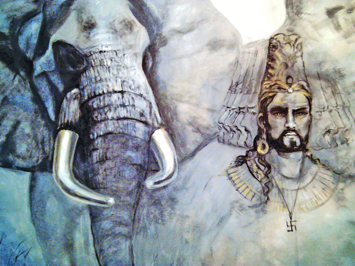 The Legend of Ravana-the King of Lanka Who Abducted Sita the Wife of God Rama