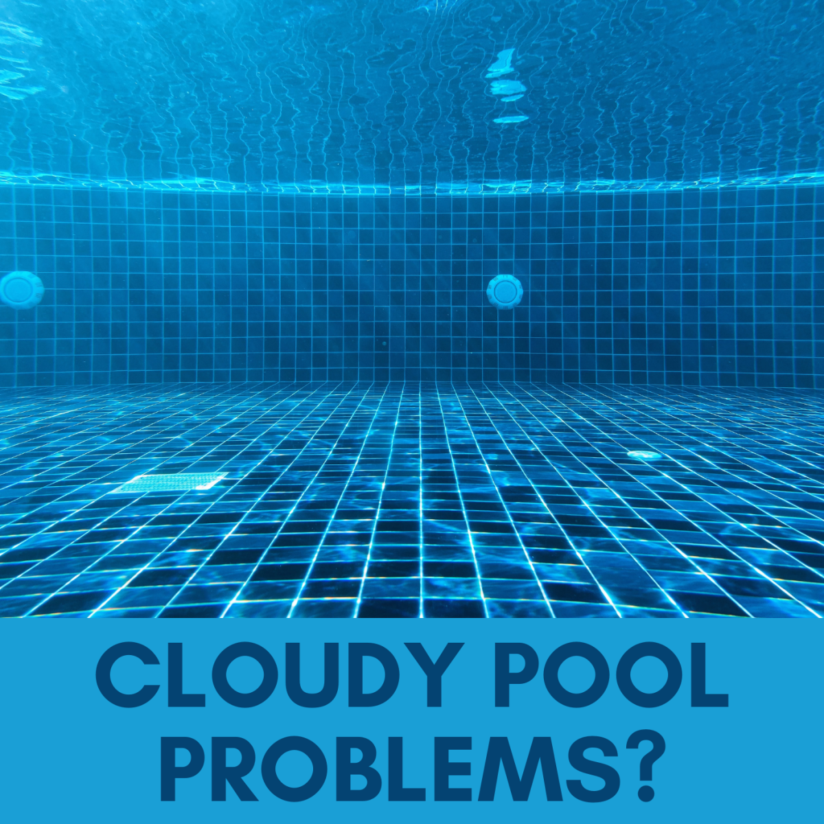 Learn how to use flocculant to clean your cloudy pool. It's as easy as 1-2-3.