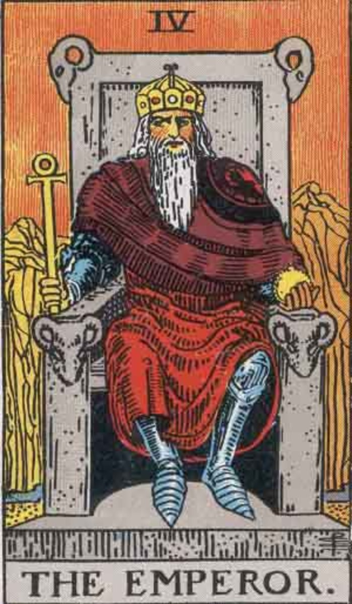 The Emperor is ruled by fire. He is the embodiment of willpower. He has developed expertise over his lifetime in order to lead.