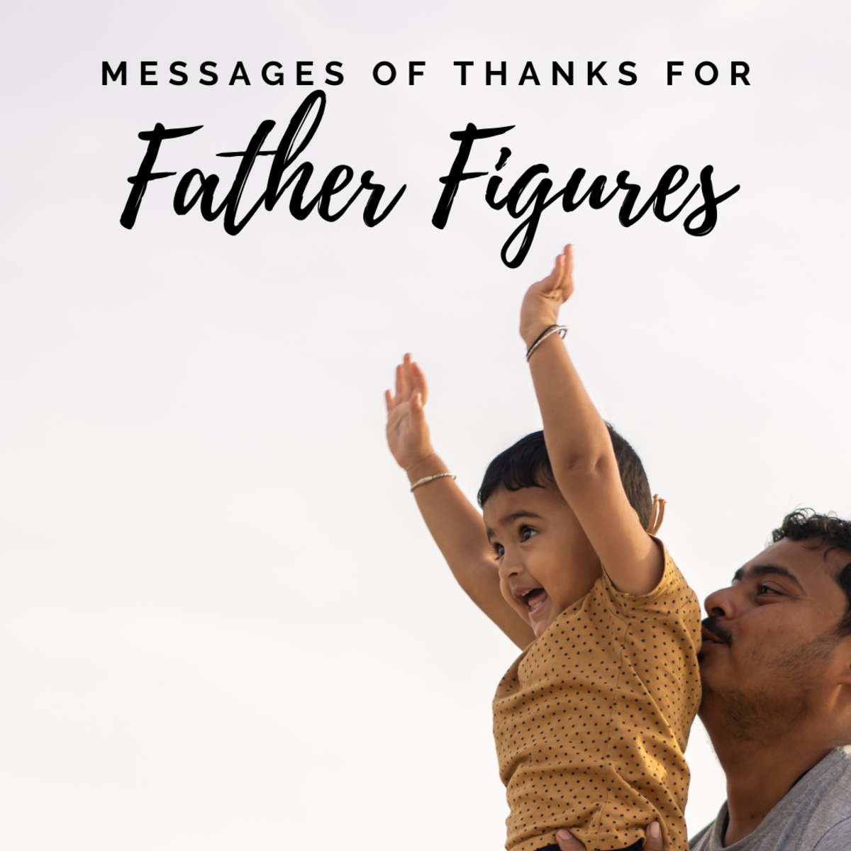Thank-you messages for father figures