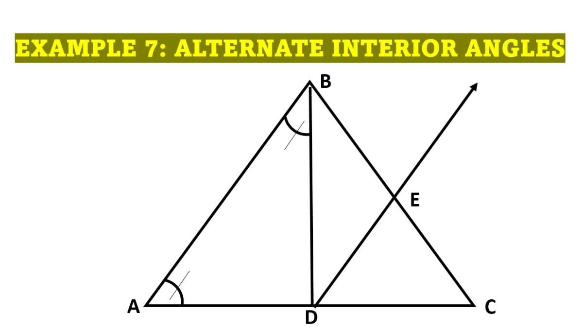 Proving Conditions Using Alternate Interior Angle Theorem