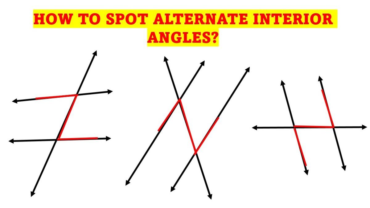 How Do You Spot Alternate Interior Angles?