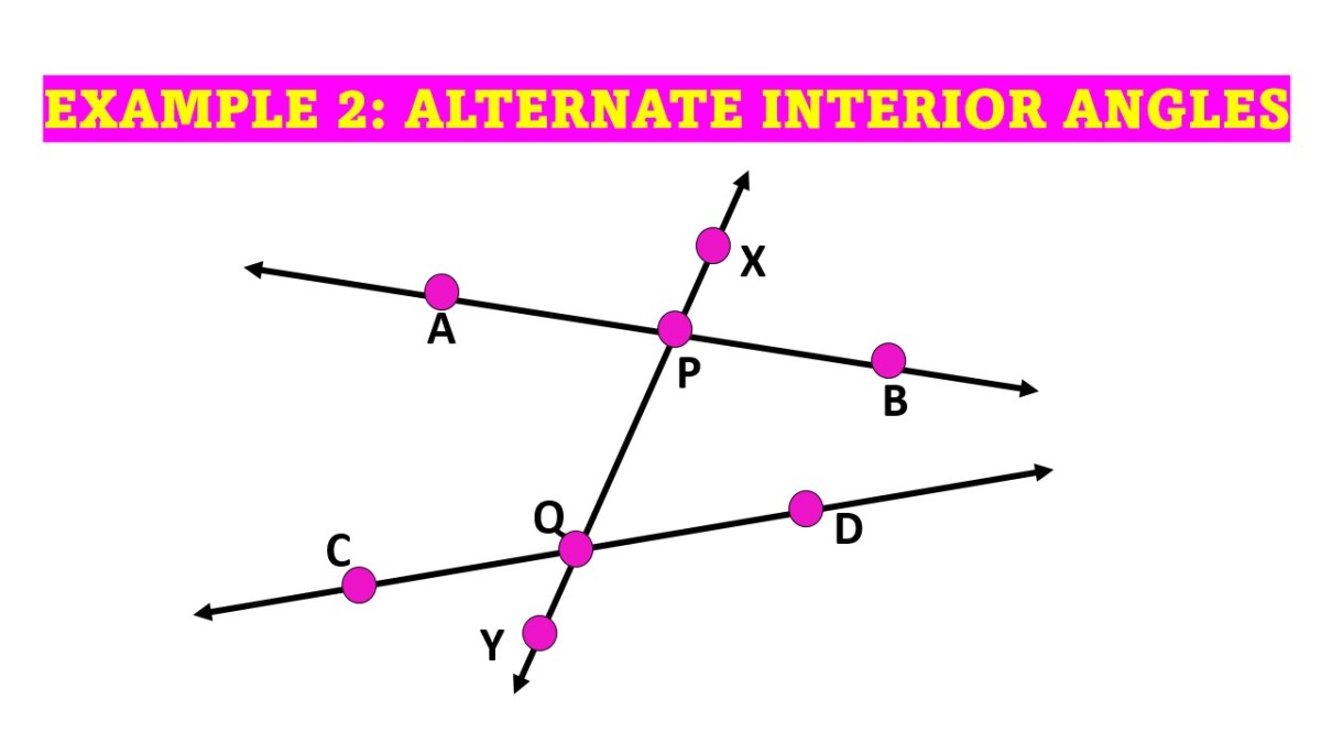 Naming Pairs of Alternate Interior Angles