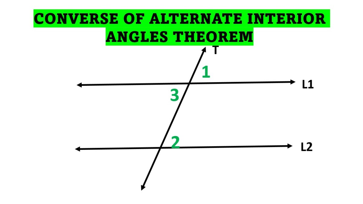The Converse of Alternate Interior Angles Theorem