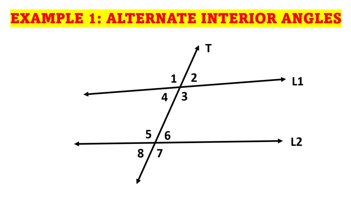 Identifying the Alternate Interior Angles