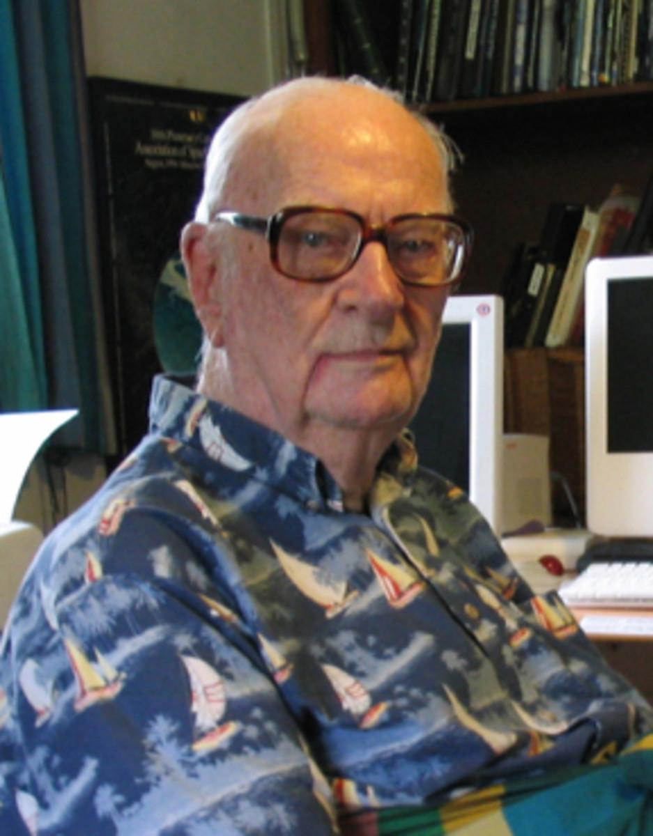 Author and Science Visionary,  Arthur C. Clarke