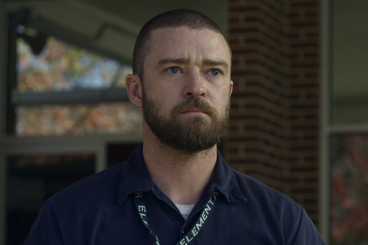 Justin Timberlake in his film, Palmer