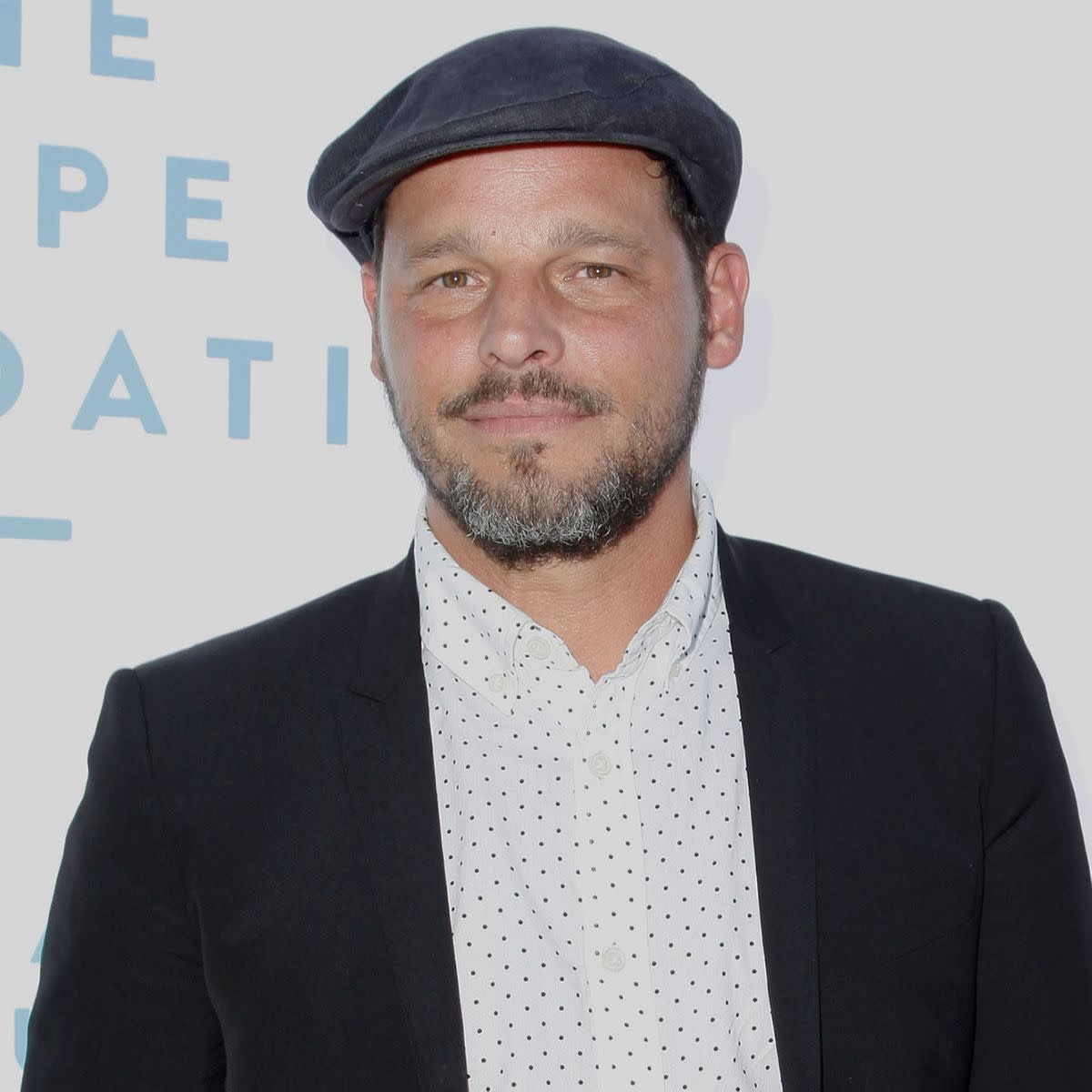 Justin Chambers dressed up