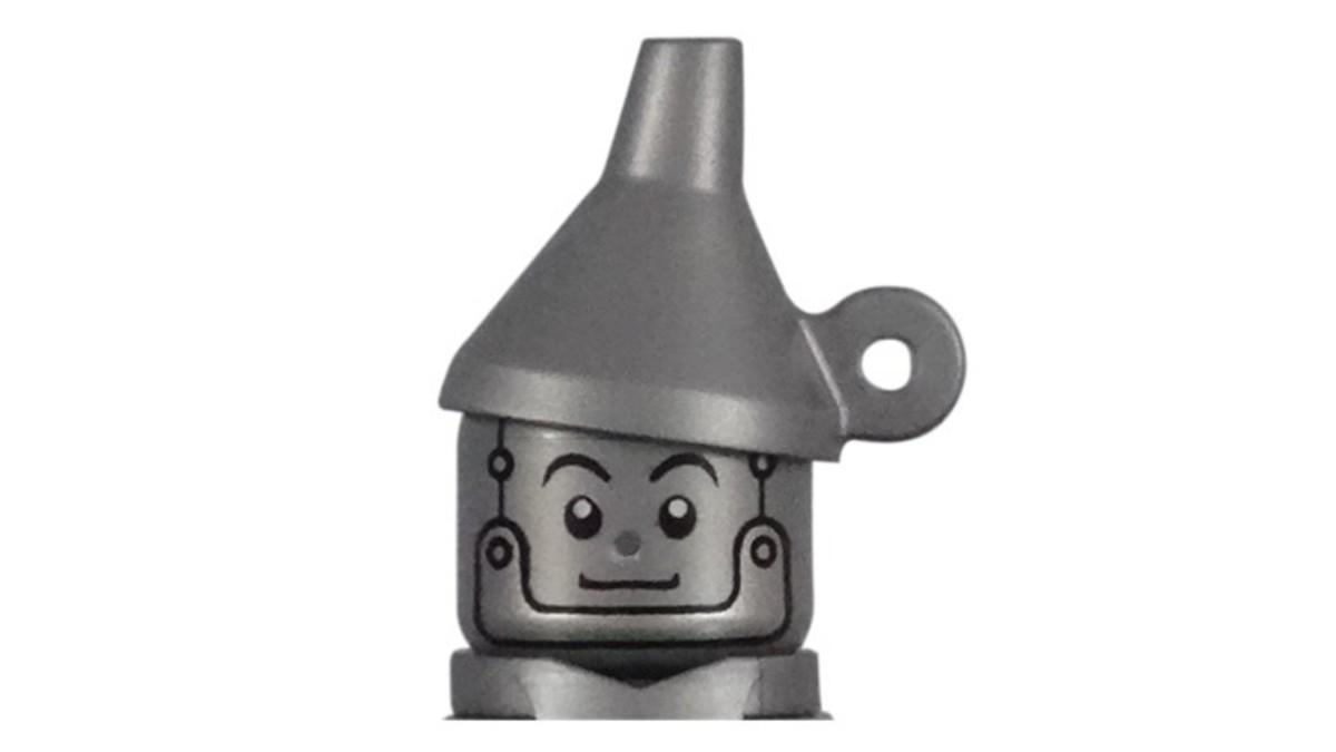LEGO Tin Man Minifigure Hat Piece