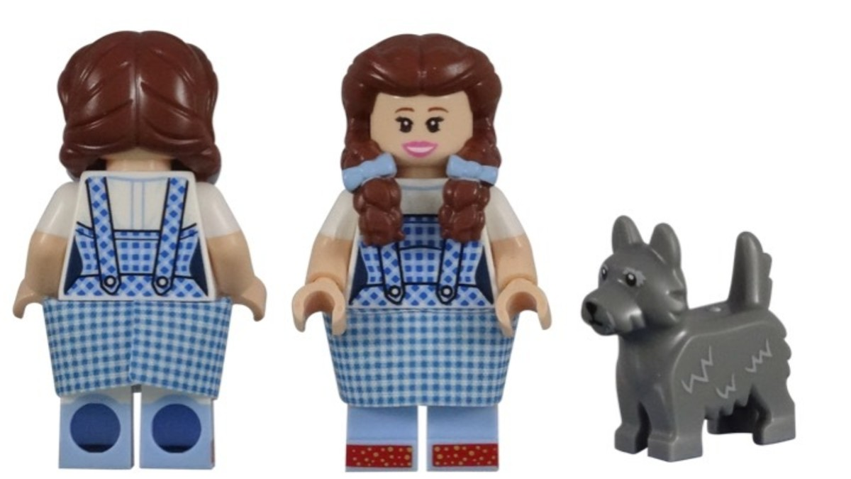 Dorothy Gale & Toto Minifigure