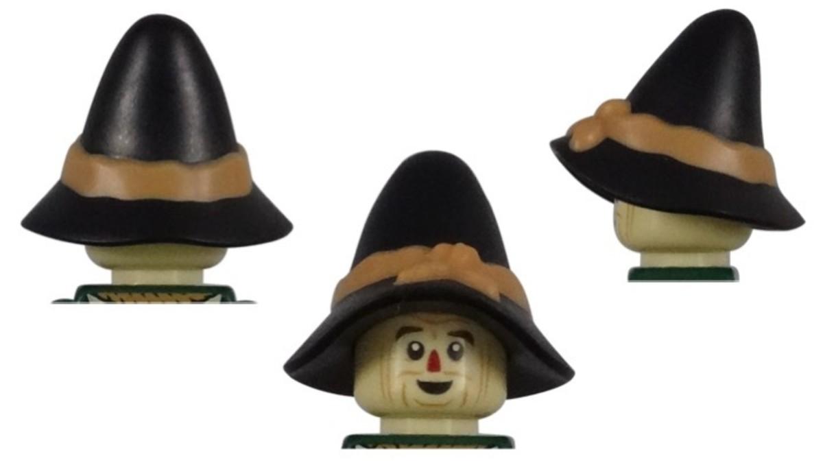 LEGO Scarecrow Minifigure Hat Piece